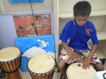 Quiet time to explore (One Arm Point, G. Howell)